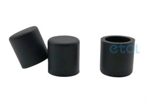 BLACK RUBBER END CAPS